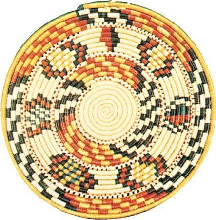 Flat Basket, 16.5''