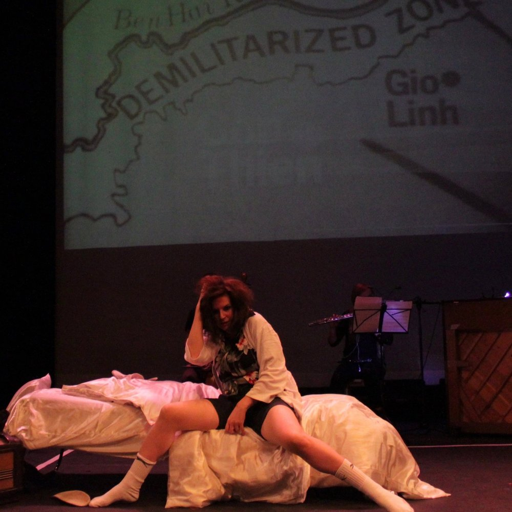Hurricane Zoo opera with text by Hunter S Thompson