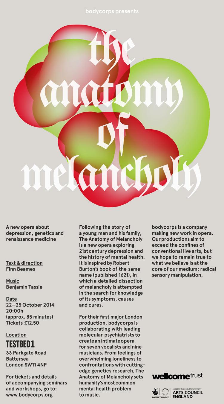 The Anatomy of Melancholy — Benjamin Tassie