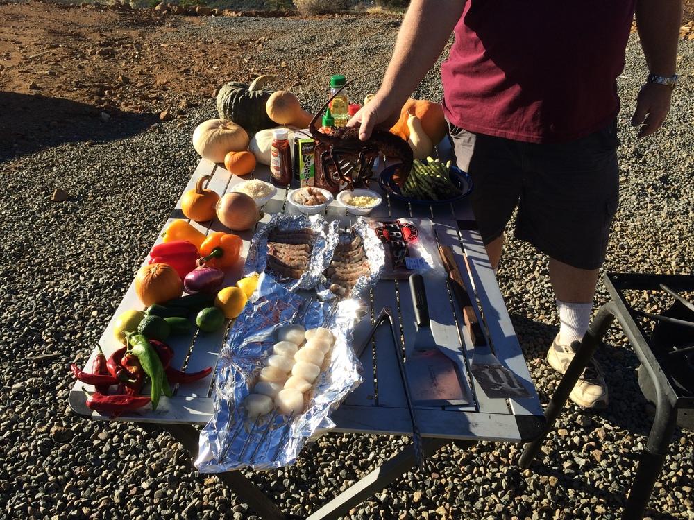 Seafood Feast Ingredients