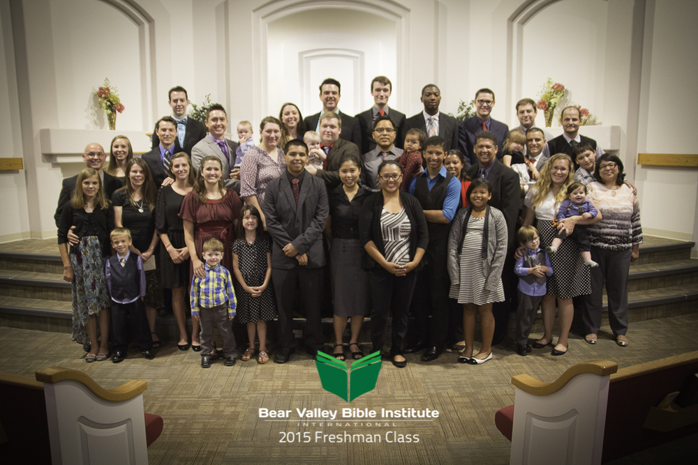Today, August 3, 2015, 16 families begin their journey to study God's word at the Bear Valley Bible Institute in Denver, Colorado. Please pray for these fine people as they seek to learn and grow in the Lord.