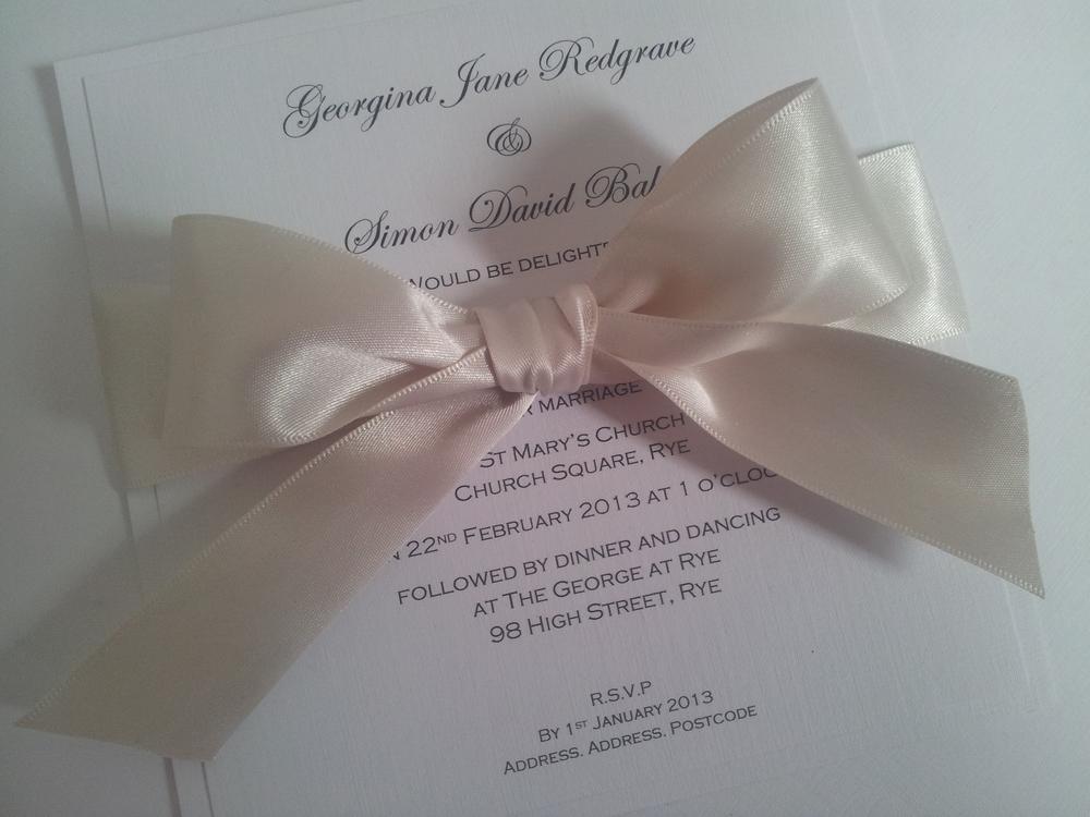 Flat Invitation