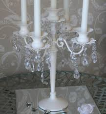 35cm cream candelabra with crystals2.jpg