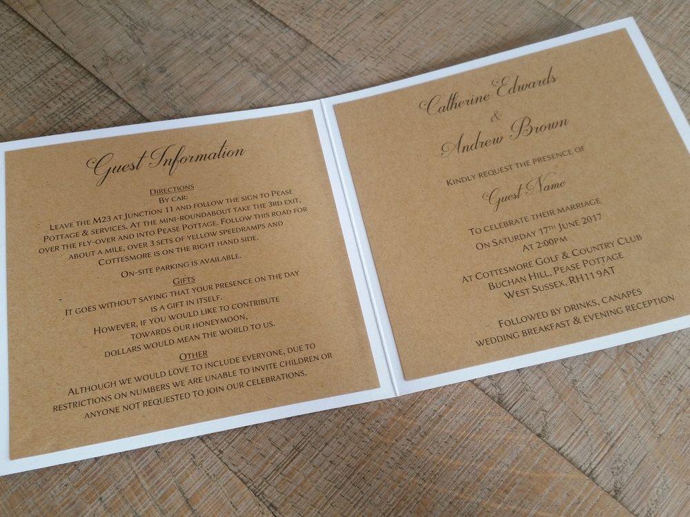 Maya - vintage rustic lace wedding invitation2.jpg