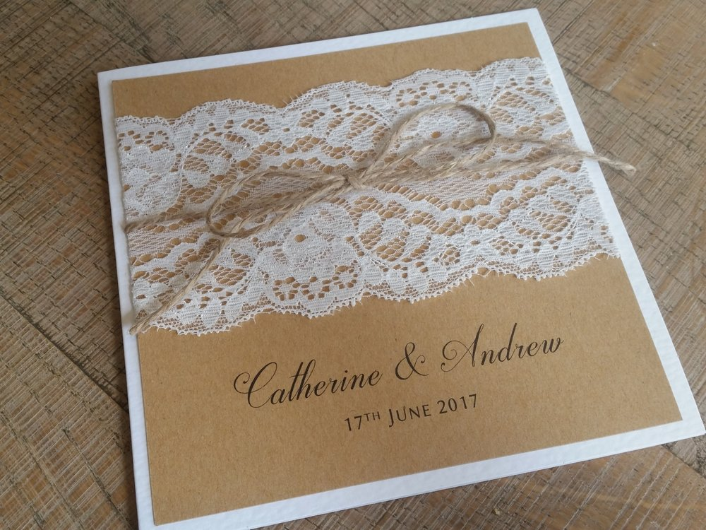 Maya - vintage rustic lace wedding invitation.jpg