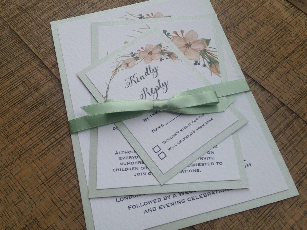 Tia - floral flower wreath rustic kraft wedding invitation (6).jpg