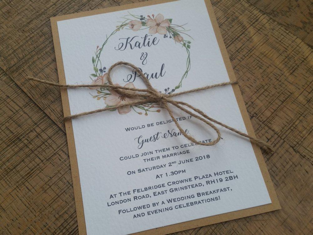 Tia - floral flower wreath rustic kraft wedding invitation (10).jpg