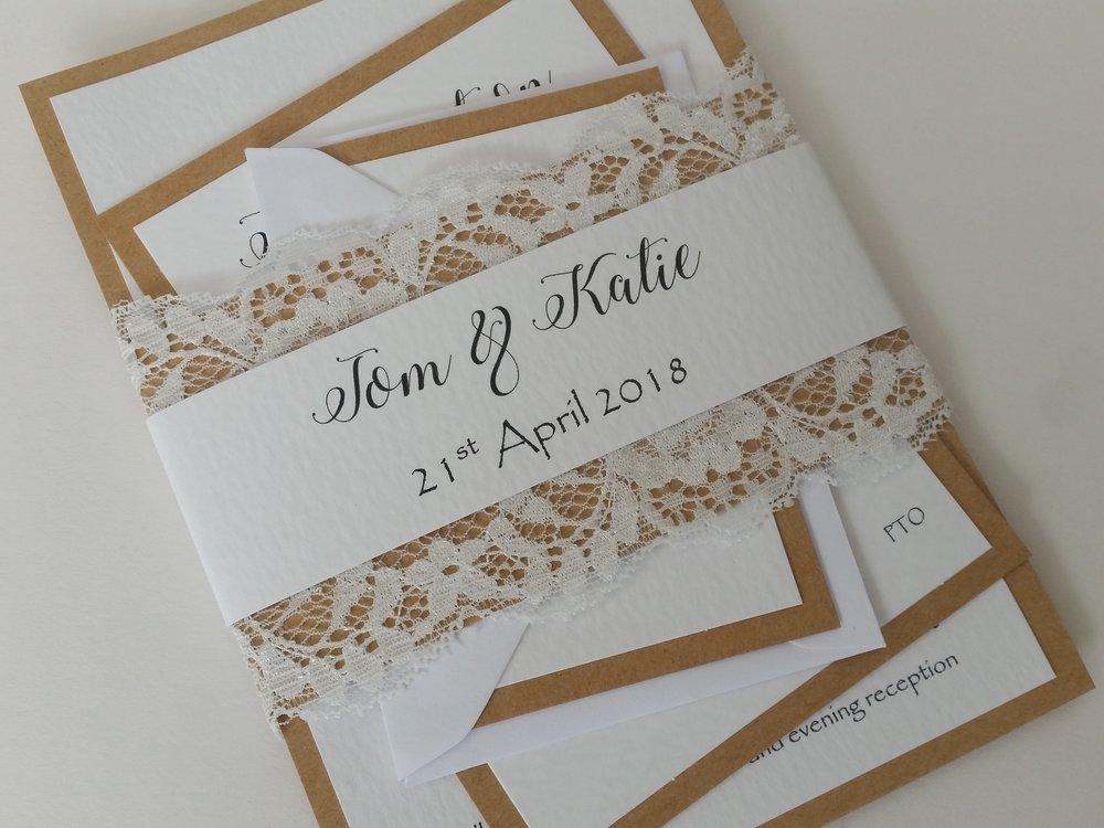 Katie - rustic kraft lace wedding invitationv2.jpg