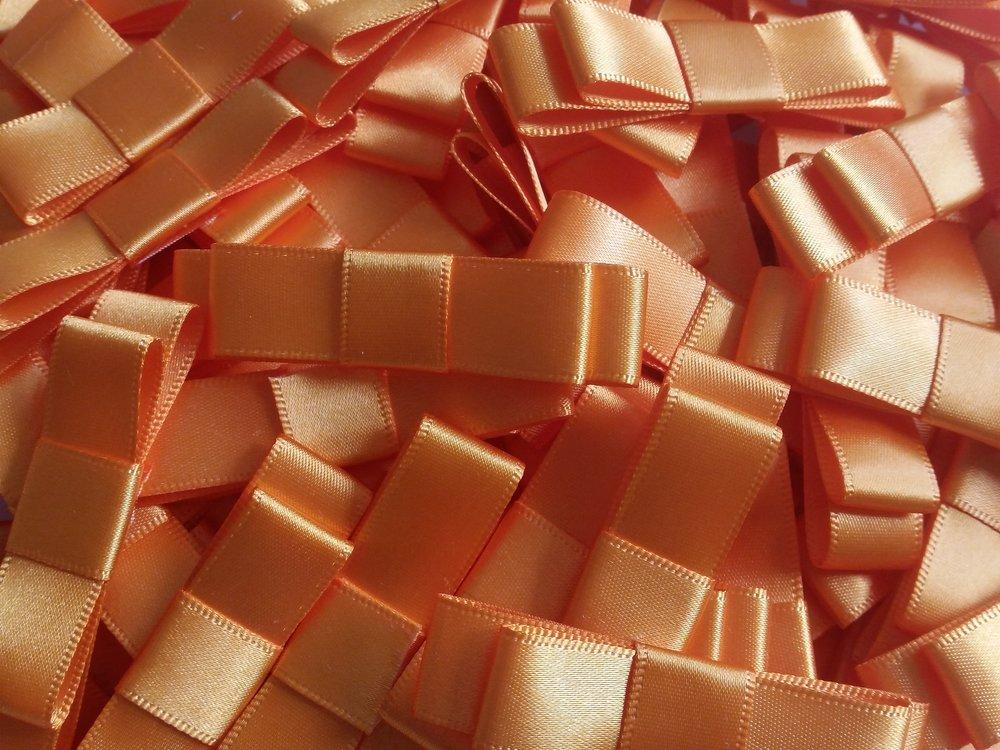 Helen - orange ribbon double formal bow.jpg