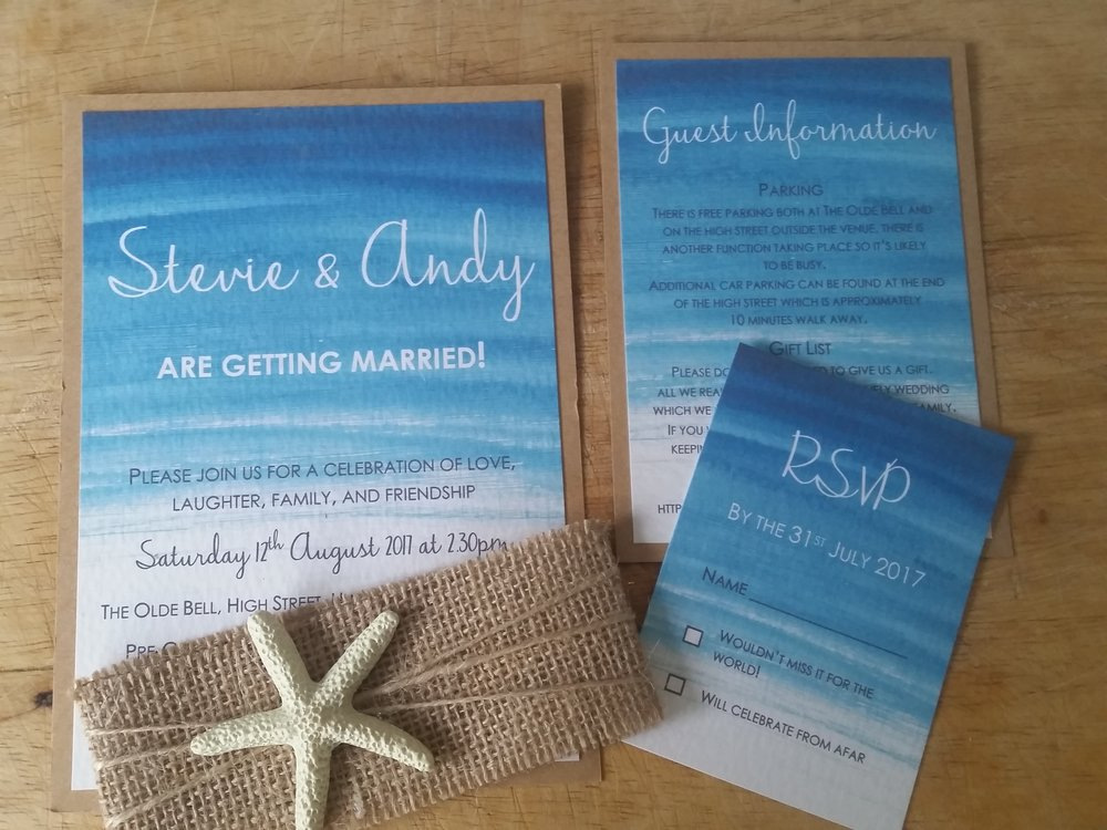 Beach - Sea Wedding Invitation4.jpg
