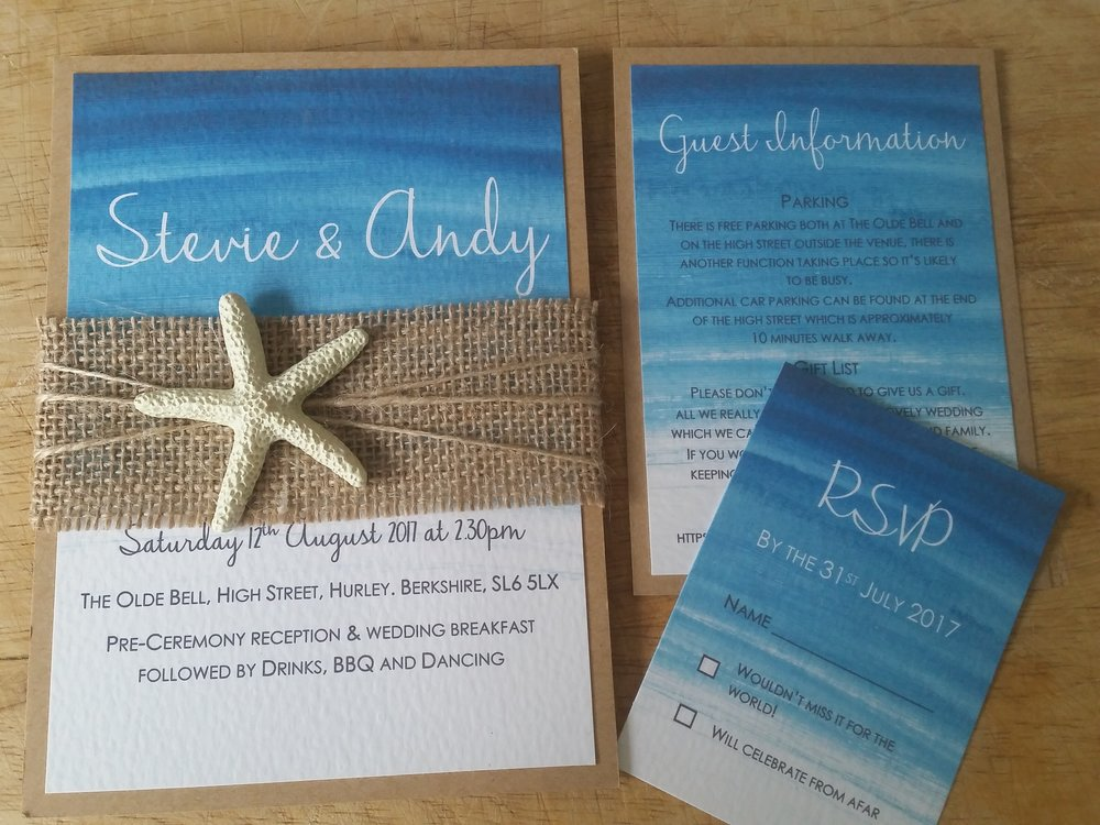 Beach - Sea Wedding Invitation.jpg