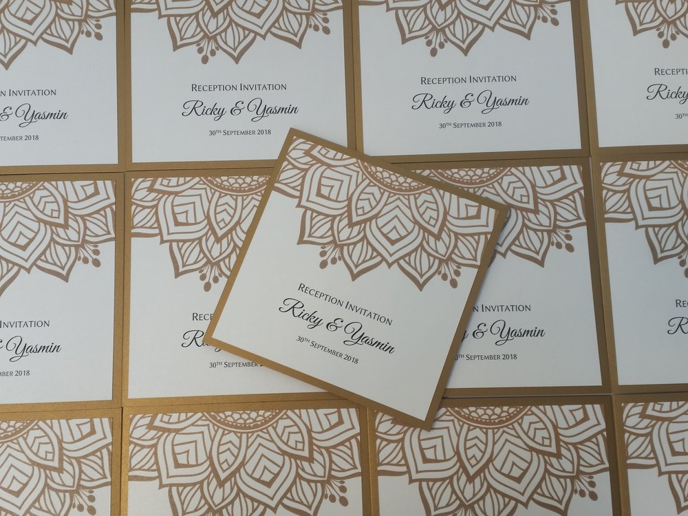 Yasmin&Ricky - gold mandala handmade wedding invitation, classic indian eastern design3.jpg