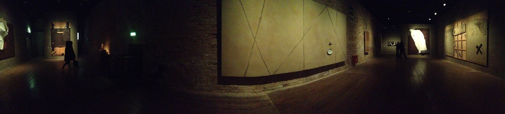 "Exhibition Image, Tàpies. Lo sguardo dell' artista"" (The eye of the artist)  Photo Credit: Cincala ArtAdvisory"