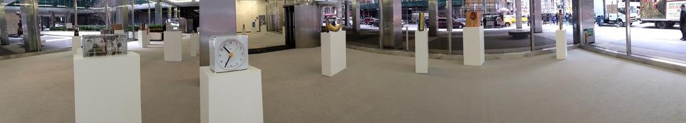 Exhibition Image, Untitled, Urs Fischer, Lever House, New York Photo Credit: Cincala Art Advisory