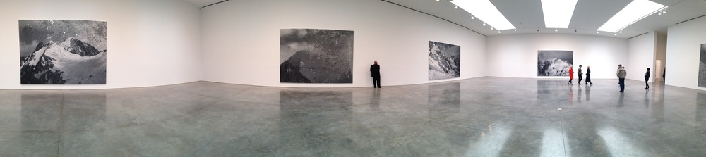 Exhibition Image,  Rudolf Stingel , Gagosian Gallery, New York Photo Credit: Cincala Art Advisory