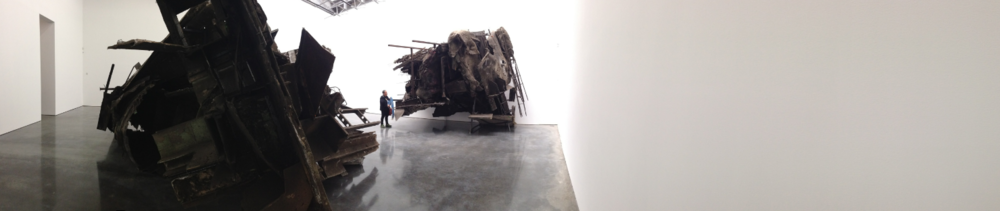 Exhibition Image,  Peter Buggenhout, Caterpillar Logic II , Gladstone Gallery, New York Photo Credit: Cincala Art Advisory