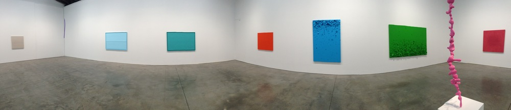 Exhibition Image,  Paint and Styrofoam  ,  Luhring Augustine, Bushwick Photo Credit: Cincala Art Advisory