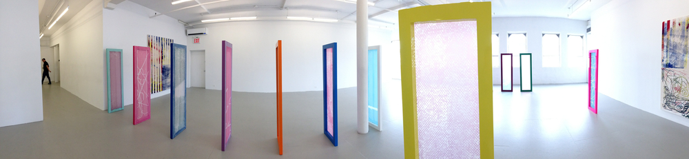 Exhibition Image,  Israel Lund  ,  David Lewis Gallery, New York Photo Credit: Cincala Art Advisory