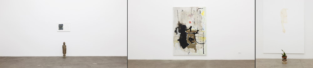 """Installation view,  Richard Aldrich """"A Day in the Life,""""  2013 Images courtesy Bortolami Gallery, New York"""