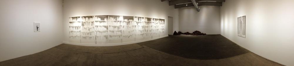 Exhibition Images, Claudio Parmiggiani , Bortolami Gallery, New York. Photo Credit:Cincala Art Advisory
