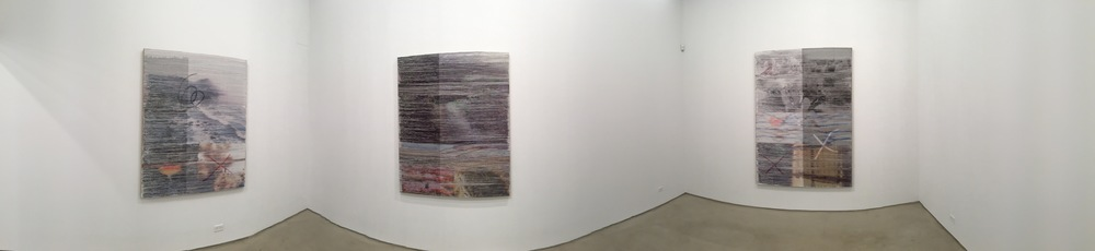 Exhibition Image,  Margo Wolowiec, Corrections and Exposures,  Lisa Cooley, New York Photo Credit:Cincala Art Advisory