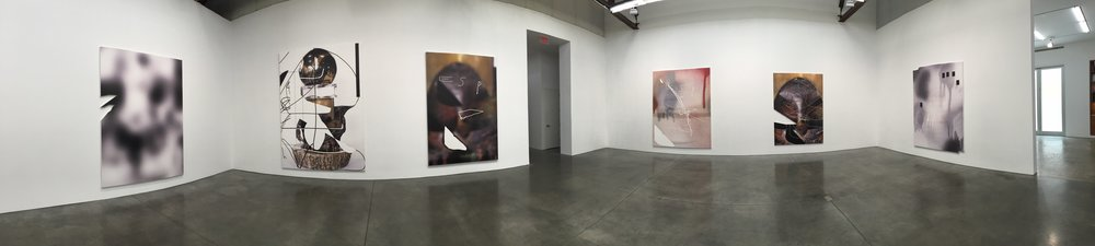 Installation images, Jeff Elrod,  This Brutal World,  Luhring Augustine, New York Photo Credits: Cincala Art Advisory