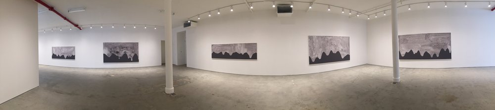 Installation image,  Carl Ostendarp , Elizabeth Dee Gallery, New York Photo Credit: Cincala Art Advisory