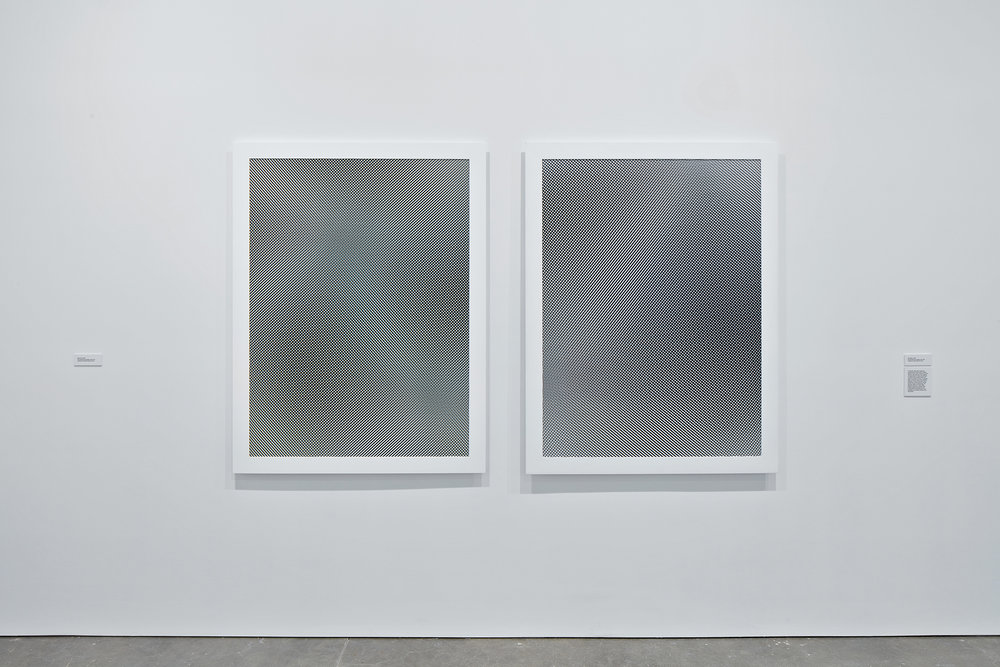 Moiré, 2009. Exhibition: Liz Deschenes, ICA Boston (June 29 - October 16, 2016). Photos courtesy the artist and Miguel Abreau Gallery, New York.
