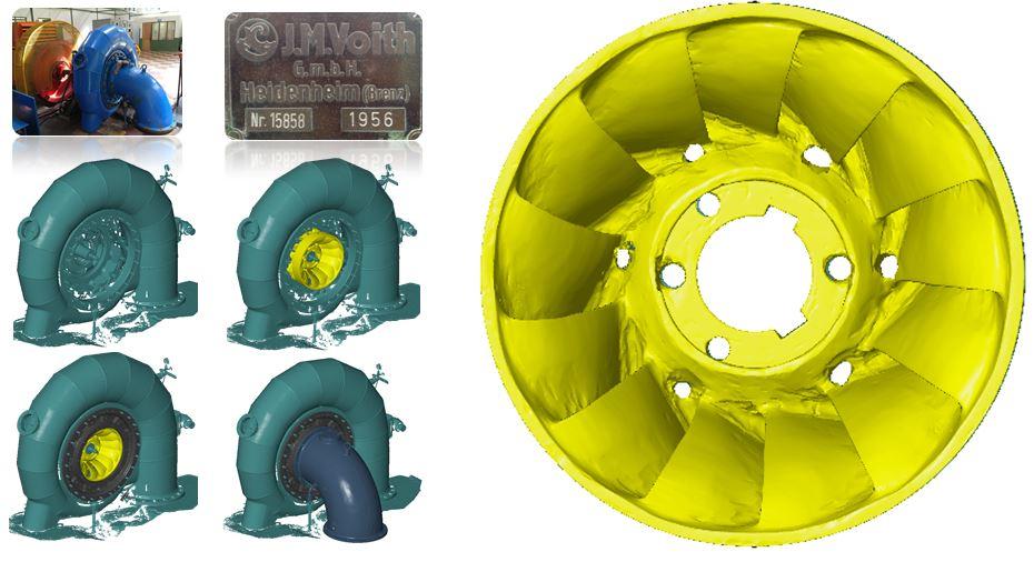 Digitalización generador Francis 1KW