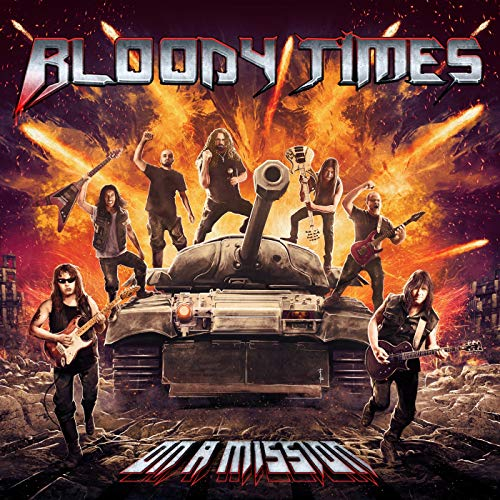 Bloody Times - On A MissionJanuary 11,2019Guitar on