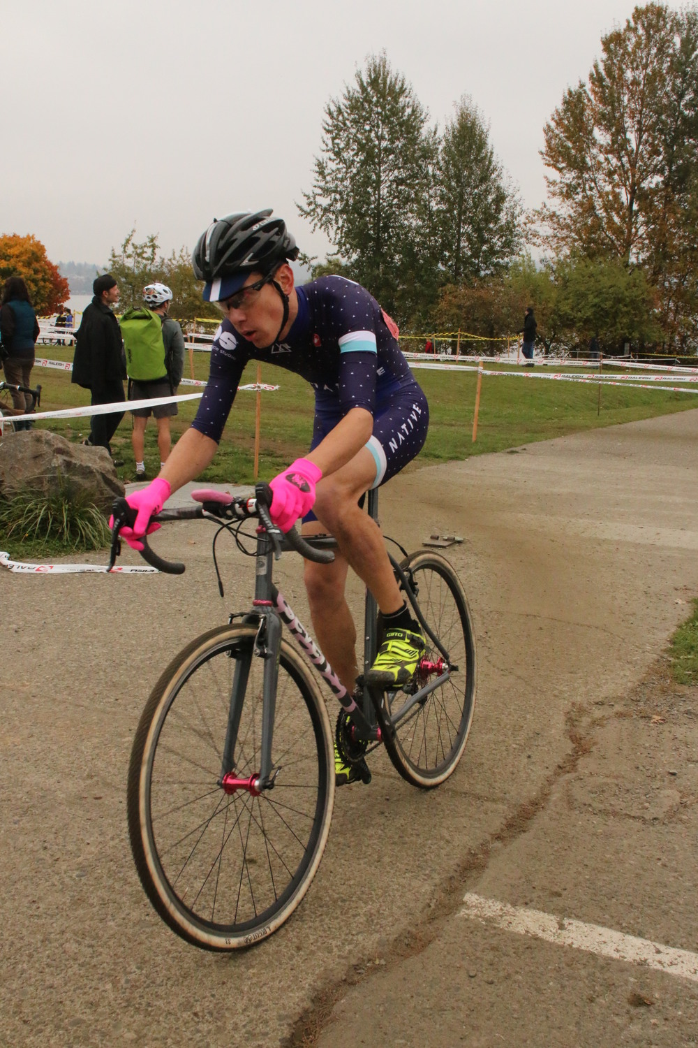 in transition to the back part of the course. photo credit: woodinville bicycle