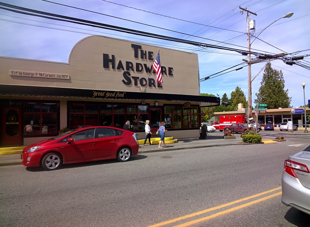"The Hardware Store, one of my ""must stops"""