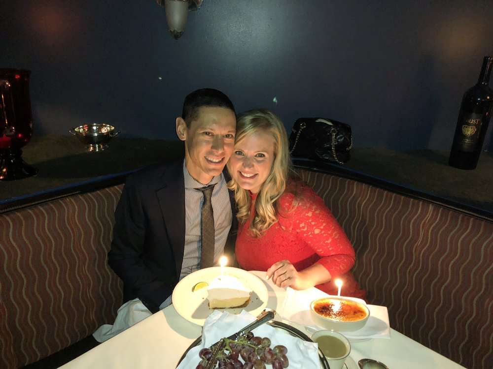 MILESTONE - Celebrating our TENTH anniversary! This beautiful, strong, funny, intelligent, witty, and independent woman is the center of my universe. I owe her big time for being patient with me, loving me unconditionally, and for always being by my side to celebrate the highs and pick me up from the lows.
