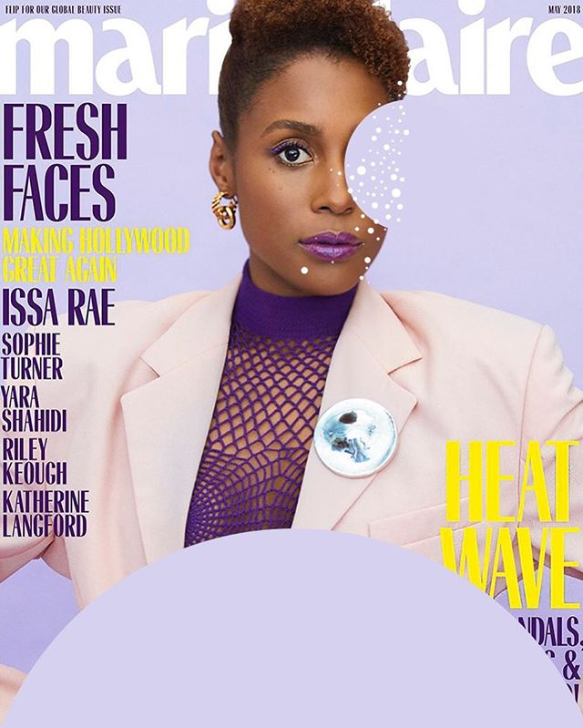 @marieclairemag @issarae May 2018 📸 @erikmadiganheck #spotspotdash . . #fashion #art #collage #colorful #fashionmagazine #creativelife #livecreatively #pursuepretty #createeveryday #instaart #creativedesign #colorcrush #style #fashionaddict #photographer #dailydoseofcolor #photography #issarae #blackgirlmagic