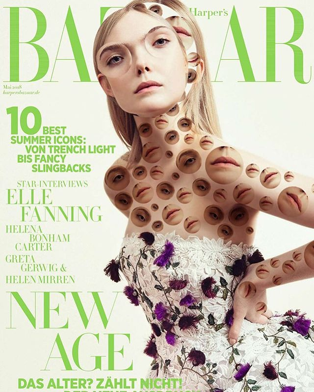 @harpersbazaargermany @ellefanning May 2018 📸 @sofiaandmauro #spotspotdash . . #fashion #art #collage #colorful #fashionmagazine #creativelife #livecreatively #pursuepretty #createeveryday #instaart #creativedesign #colorcrush #style #fashionaddict #photographer #dailydoseofcolor #photography #harpersbazaar #ellefanning #spring #mayissue