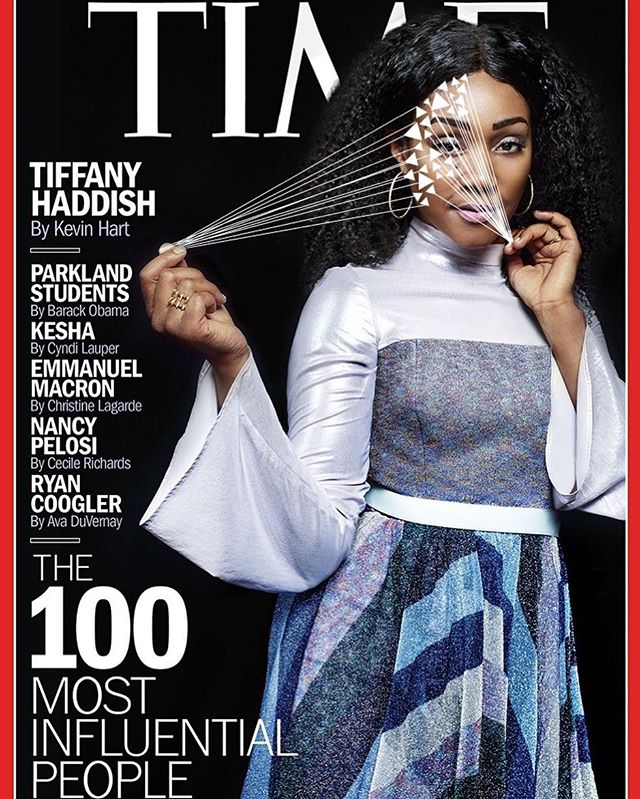 @time @tiffanyhaddish May 2018 📸 #peterhapak  #spotspotdash . . #fashion #art #collage #colorful #fashionmagazine #creativelife #livecreatively #pursuepretty #createeveryday #instaart #creativedesign #colorcrush #style #fashionaddict #photographer #dailydoseofcolor #photography #thefutureisfemale #blackgirlmagic #movies #comedy #time100 #timemagazine #thelastblackunicorn