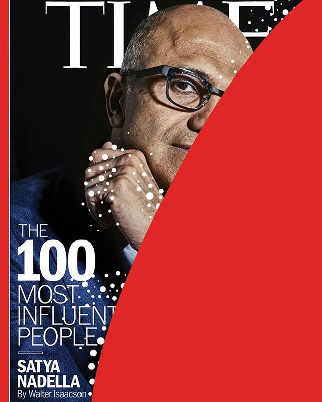 @time #satyanadella May 2018 📸 #peterhapak  #spotspotdash . . #fashion #art #collage #colorful #fashionmagazine #creativelife #livecreatively #pursuepretty #createeveryday #instaart #creativedesign #colorcrush #style #fashionaddict #photographer #dailydoseofcolor #photography #time100 #time #timemagazine #microsoft