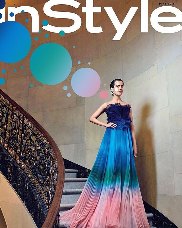 @instylemagazine @mssarahcatharinepaulson May 2018 📸 @alexanderneumann #spotspotdash . . #fashion #art #collage #colorful #fashionmagazine #creativelife #livecreatively #pursuepretty #createeveryday #instaart #creativedesign #colorcrush #style #fashionaddict #photographer #dailydoseofcolor #photography #thefutureisfemale #oceans8