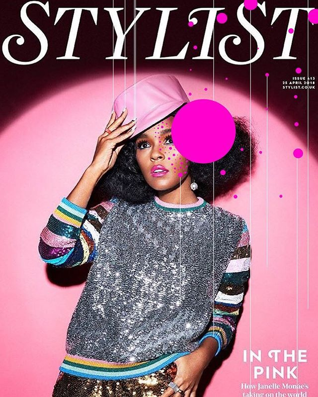 @stylistmagazine @janellemonae April 2018 📸 @jontydaviesphoto #spotspotdash . . #fashion #art #collage #colorful #fashionmagazine #creativelife #livecreatively #pursuepretty #createeveryday #instaart #creativedesign #colorcrush #style #fashionaddict #photographer #dailydoseofcolor #photography #thefutureisfemale #janellemonae #music #stylistwednesday #pynk #picame #dirtycomputer #blackgirlmagic