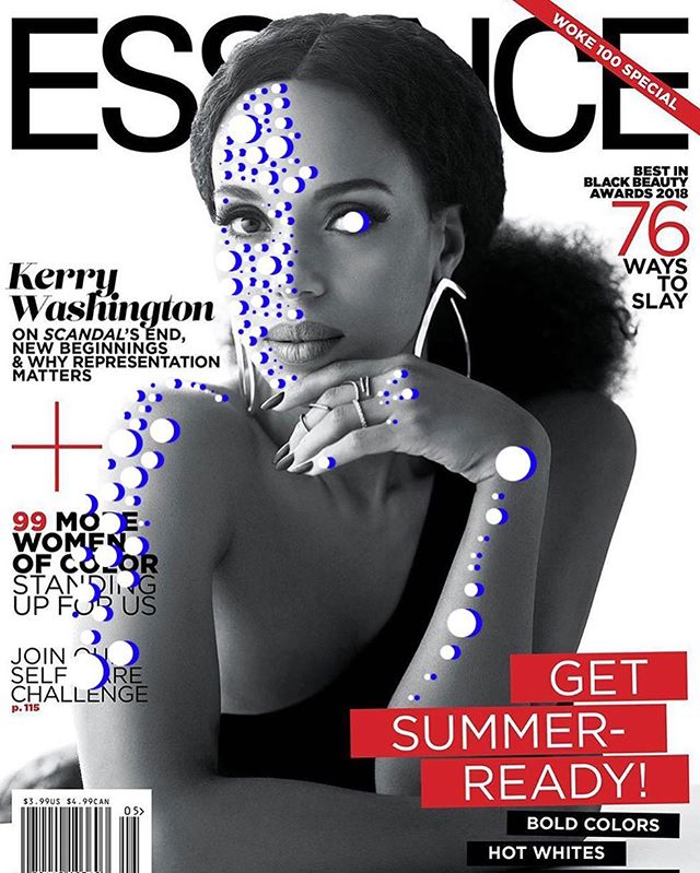 @essence @kerrywashington May 2018 📸 @kwakualston #spotspotdash . . #fashion #art #collage #colorful #fashionmagazine #creativelife #livecreatively #pursuepretty #createeveryday #instaart #creativedesign #colorcrush #style #fashionaddict #photographer #dailydoseofcolor #photography #thefutureisfemale #scandal #woke100 #timesup #kerrywashington #essence