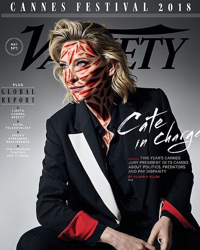 @variety #cateblanchett May 2018 📸 @aspictures #spotspotdash . . #fashion #art #collage #colorful #fashionmagazine #creativelife #livecreatively #pursuepretty #createeveryday #instaart #creativedesign #colorcrush #style #fashionaddict #photographer #dailydoseofcolor #photography #thefutureisfemale #cannes2018 #cannes #cannesfilmfestival #timesup