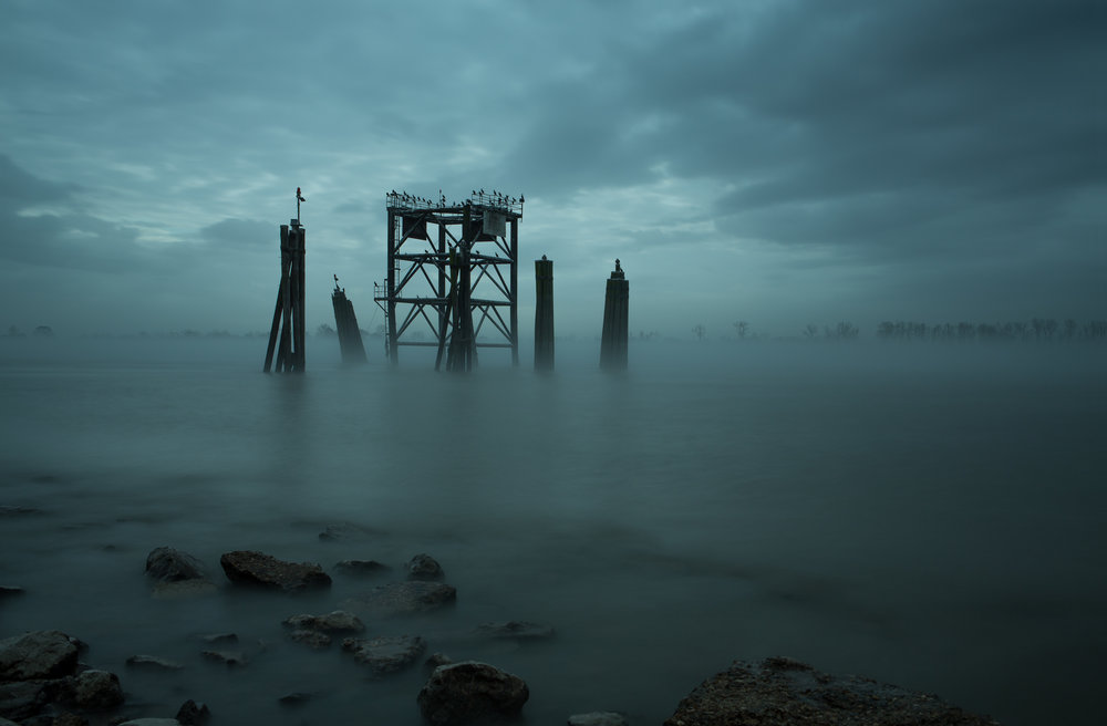 Missing Pier