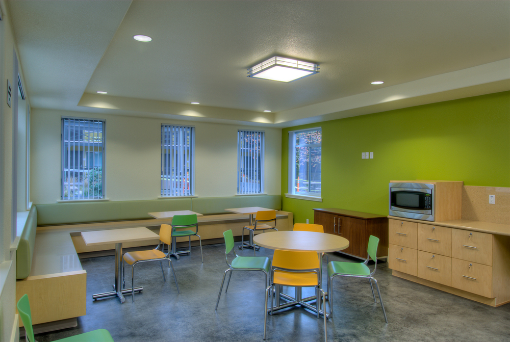 Community Room resident lounge