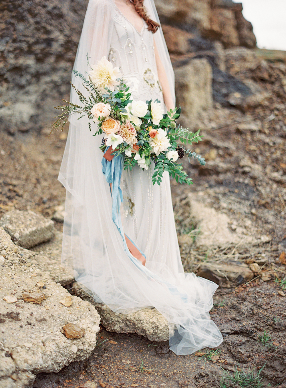 The Southern Table - Lakeside Editorial Bouquet - Photo by Kayla Barker Photography