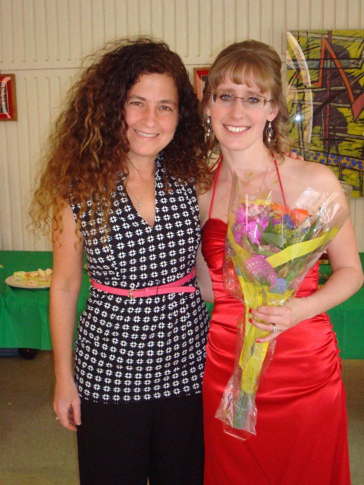 Stefanie Abderhalden and Kim Risinger