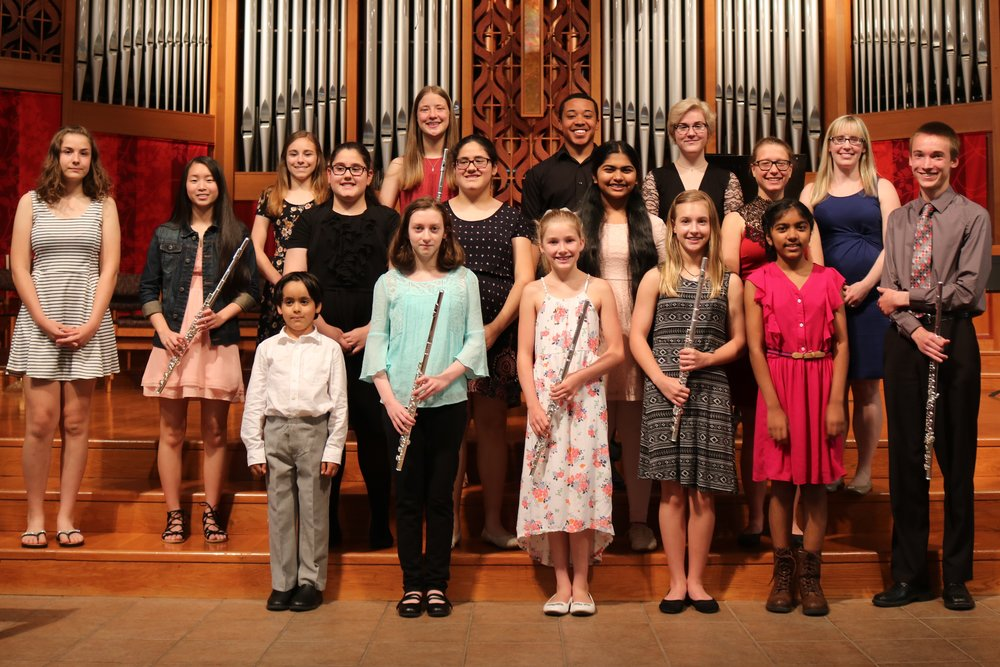 Students from our Spring Studio Recital on June 4, 2017.
