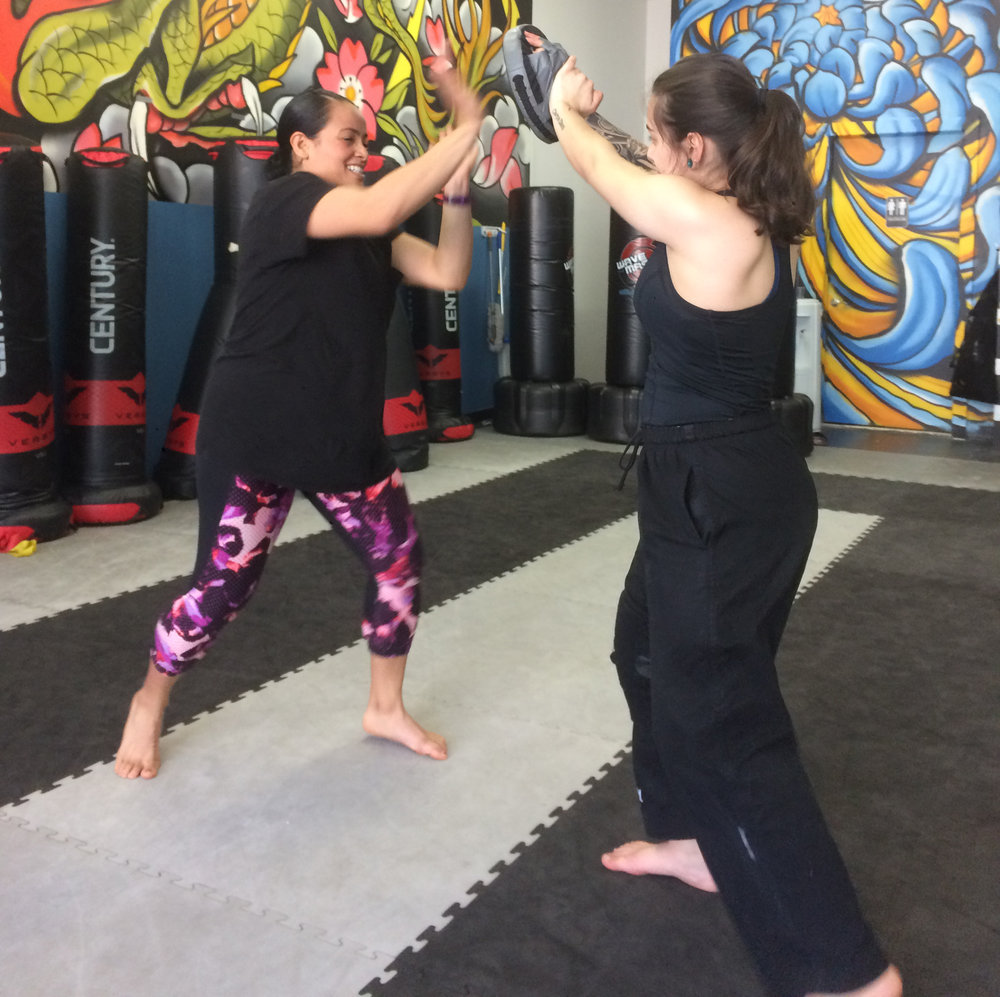 Women's Self-Defense with Warrior Sisters!