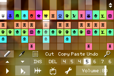 Pixitracker 1-bit e 16-bit