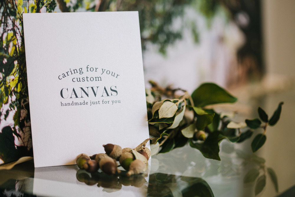 Handcrafted Canvases