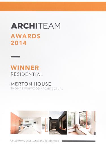 Architeam Award